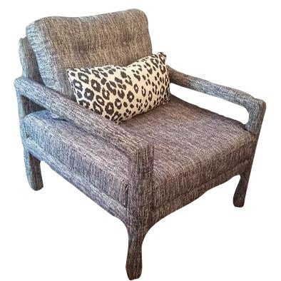 Mid-Century Modern Parsons Chair - Image 1 of 9