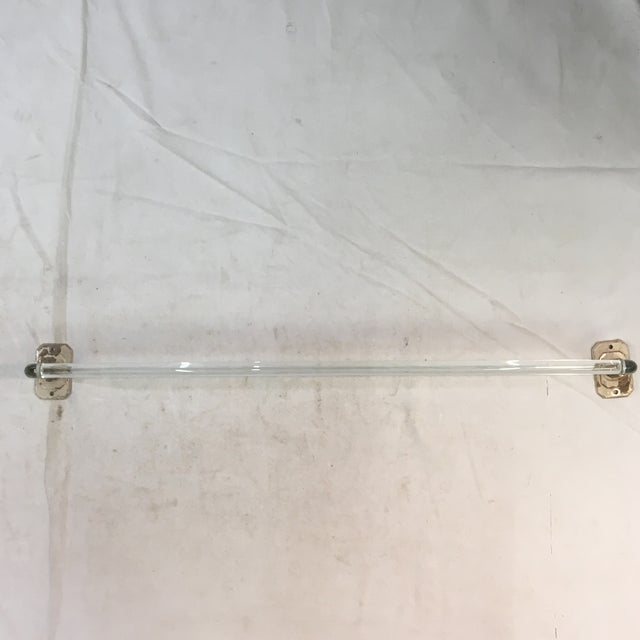 Vintage Lucite Towel Bar With Chrome-Plated Hardware For Sale - Image 13 of 13