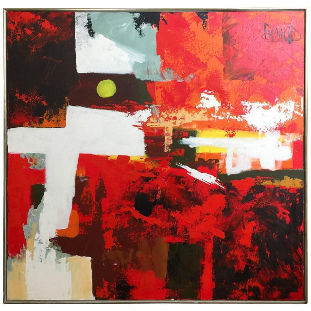1960s Abstract Oil Painting by Lee Reynolds - Image 2 of 5