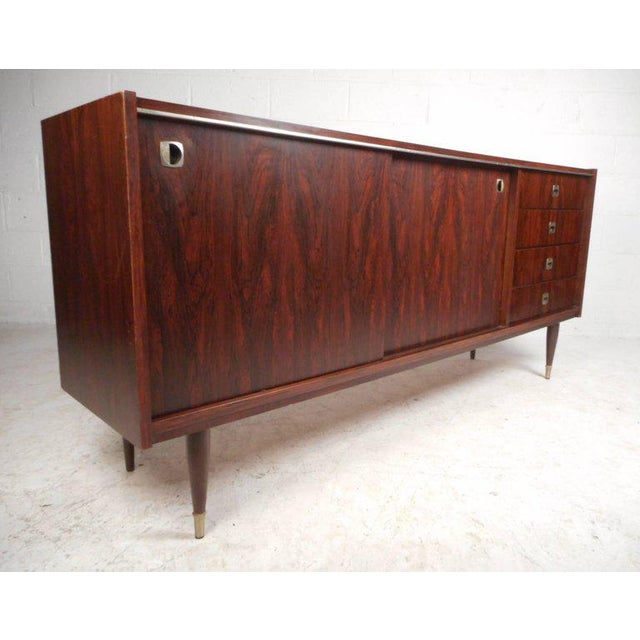Royal Board of Sweden Mid-Century Rosewood Credenza For Sale - Image 11 of 11