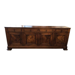19th Century French Louis Philippe Monumental Enfilade For Sale