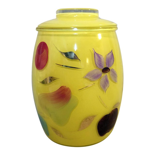 Bartlett Collins Yellow Gay Fad Cookie Jar For Sale