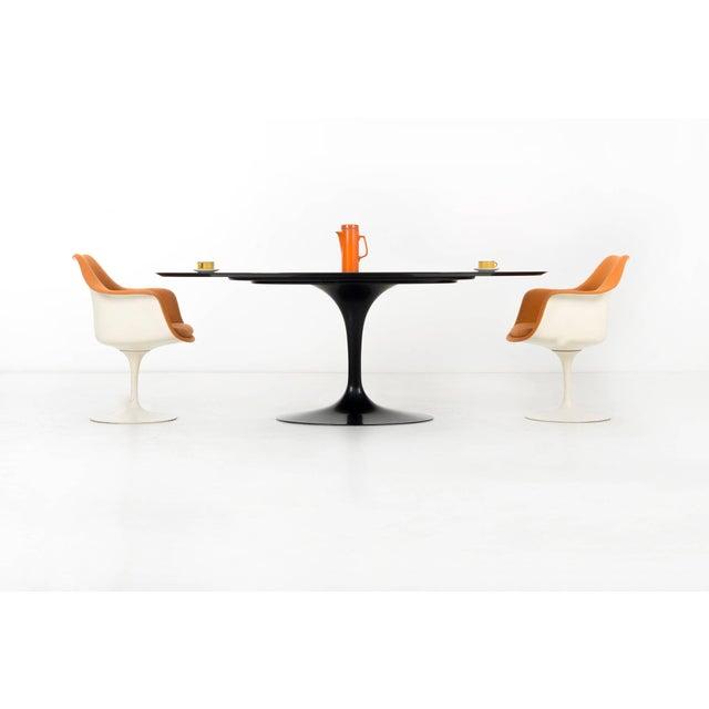 Eero Saarinen Black Granite Tulip Table For Sale In Chicago - Image 6 of 9