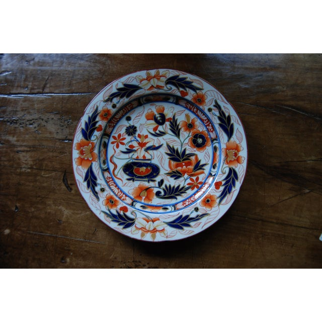 Antique English Ironstone Platters & Dishes - Set of 9 - Image 4 of 6