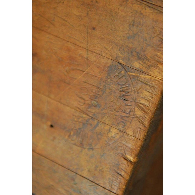 Michigan Maple Wood-Welded Table Top Butcher Block For Sale - Image 10 of 10
