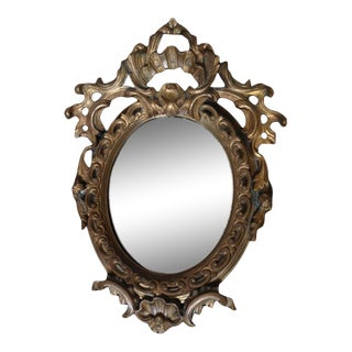 Early 1900's Tiffany & Co. Bronze Cast Mirror For Sale