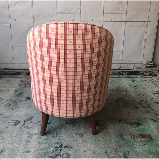 1920s Vintage French Napoleon III Style Slipper Chair For Sale - Image 9 of 10