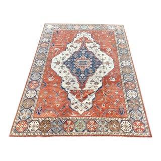 1990's Persian Serapi Large Area Rug For Sale