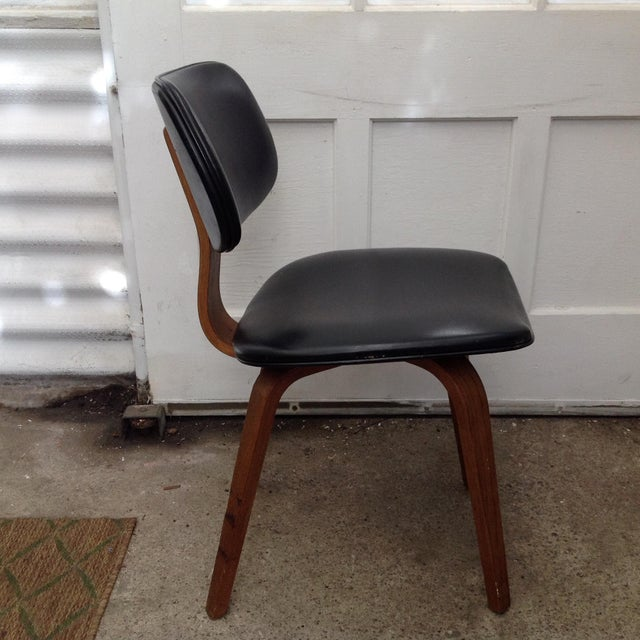 mid century modern thonet bentwood chair chairish
