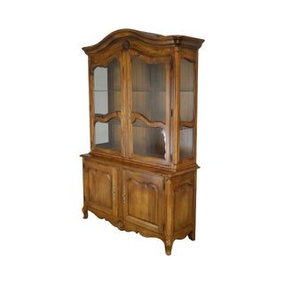 Ethan Allen French Country China Cabinet For Sale