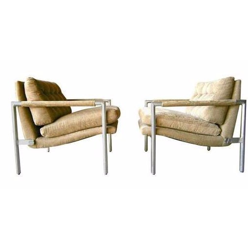 1960s Aluminum Club Chairs - A Pair - Image 1 of 7