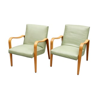 """Mid Century Lounge Chairs by """"Thonet""""- A Pair Preview"""