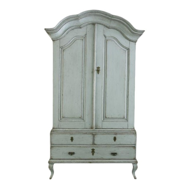 18th C. Swedish Rococo Cabinet For Sale