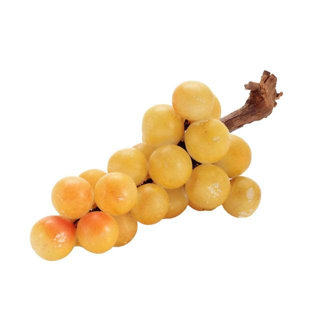 Vintage Italian Alabaster Grape Cluster For Sale - Image 4 of 4