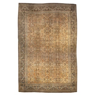 "Early 20th Century Mahal Sultanabad Rug - 144"" x 208"" For Sale"