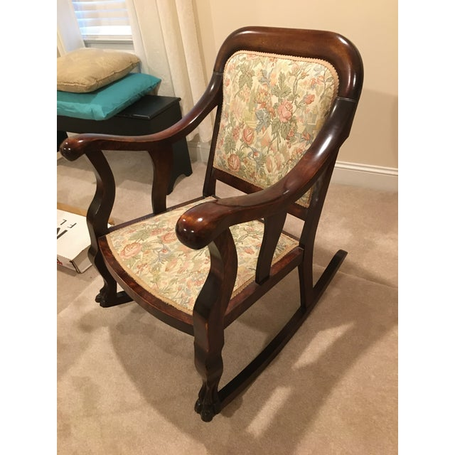 20th Century Antique Rocking Chair For Sale In Columbia, SC - Image 6 of 7