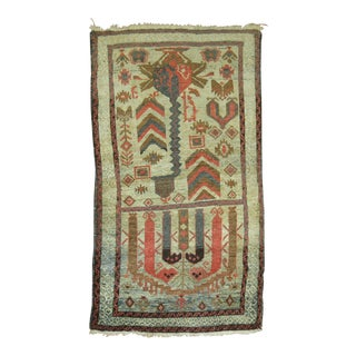 Vintage Persian Balouch Rug, 2'8'' x 4'5'' For Sale