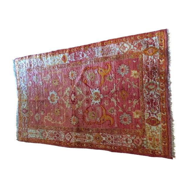 Silk Oriental Rug - 3'5'' x 6' - Image 1 of 7