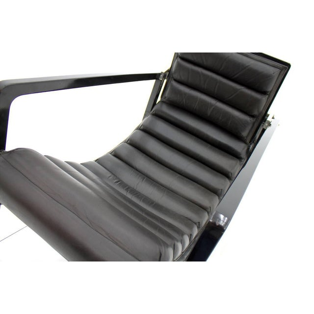 Eileen Gray Transat Lounge Chair by Ecart International, 1980s For Sale - Image 9 of 10