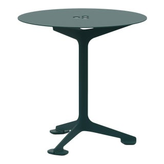 Jackson Cafe Table Round in Moss For Sale