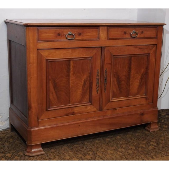 Antique French Fruitwood Buffet, Louis Philippe, circa 1840 - Image 2 of 9