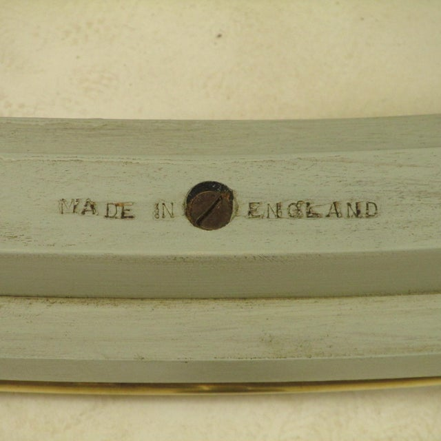 English Gray Painted Tea Cart For Sale - Image 10 of 11