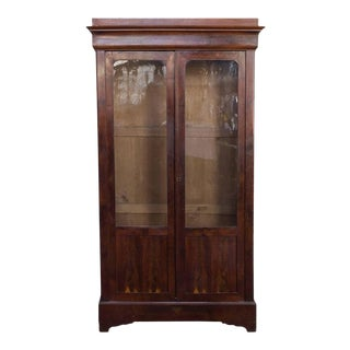 French, 19th Century Mahogany Bookcase