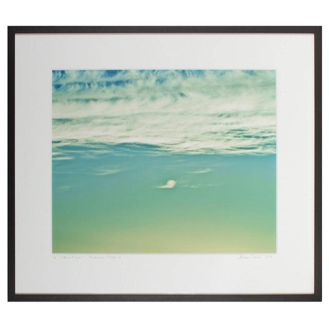 "Gaetan Caron Gaétan Caron ""Ethereal Green"" Mendocino, Ca Clouds, Color Photograph, 2016 2016 For Sale - Image 4 of 5"