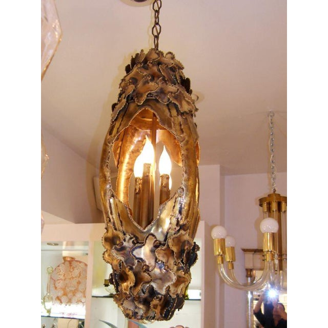 Early 20th Century T.A. Greene Chandelier For Sale - Image 5 of 9