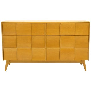 Six-Drawer Kohinoor Dresser by Heywood Wakefield, Original Blonde Finish For Sale
