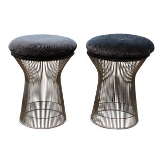 Pair of Warren Platner for Knoll Stools