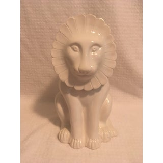 Vintage Mancer Italian Lion Cookie Jar Preview