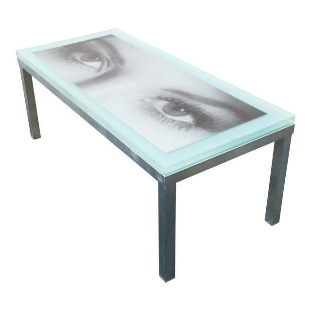 """2010s """"Eye of the Beholder"""" Coffee Table For Sale - Image 5 of 7"""