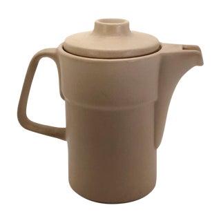 Vintage Brazilian Fiori Forno Ceramic Coffee Pot For Sale