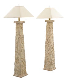 Image of Karl Springer Floor Lamps