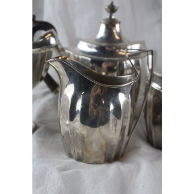 Late 1700s Federal Tea Set of 5 For Sale - Image 9 of 10