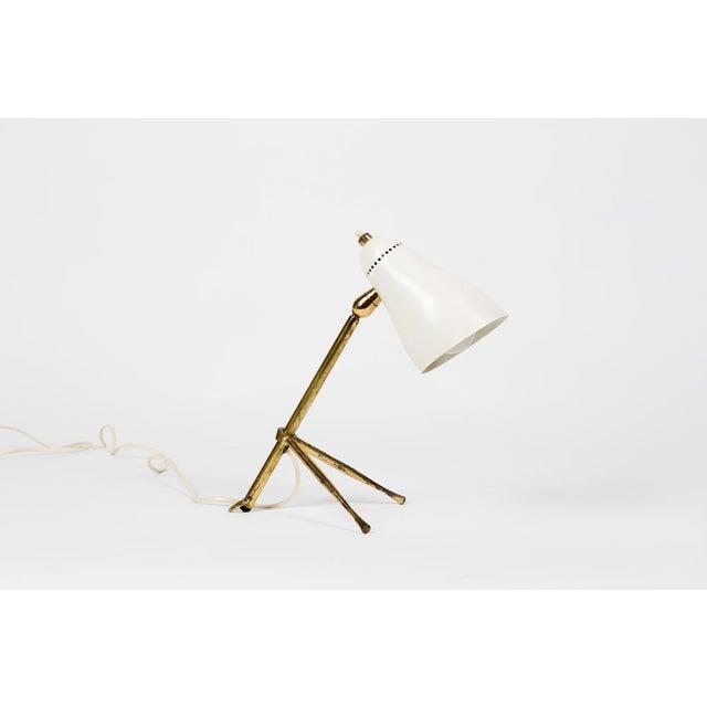 1950s Giuseppe Ostuni for Oluce Table or Desk Lamp For Sale - Image 12 of 12