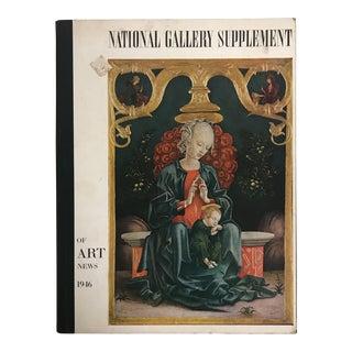 """1946 """"Supplemental Art News"""" Hardcover Art Magazine For Sale"""