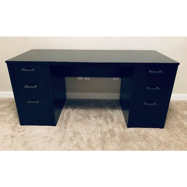 Traditional Traditional New Ethan Allen Partner Desk For Sale - Image 3 of 3