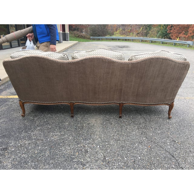 Baker Furniture French Country Sofa - Image 5 of 10