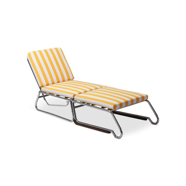 Tubular Chrome Lounge Chair For Sale - Image 11 of 11