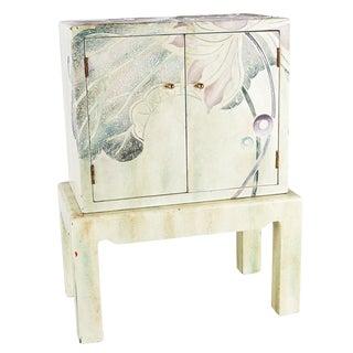 1970s Vintage Enameled Cabinet For Sale