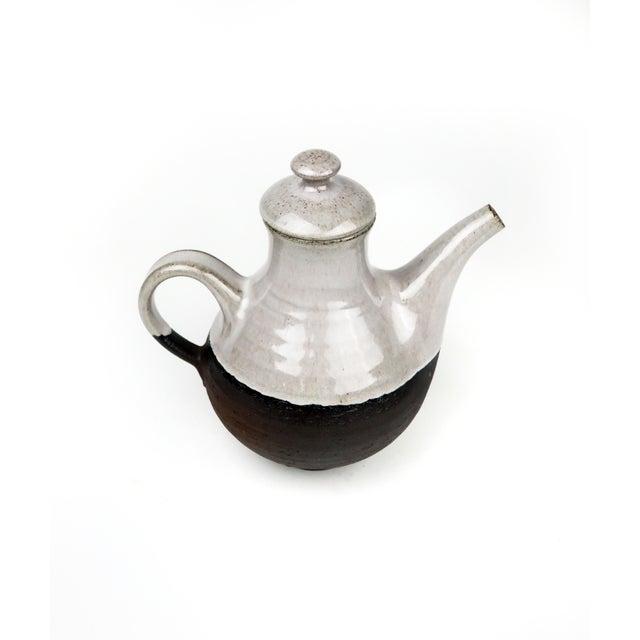 Danish Modern Danish Modern Ditlev Ceramic Tea Pot For Sale - Image 3 of 8