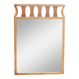 Rectangular Mid-Century Modern Wall Mirror For Sale
