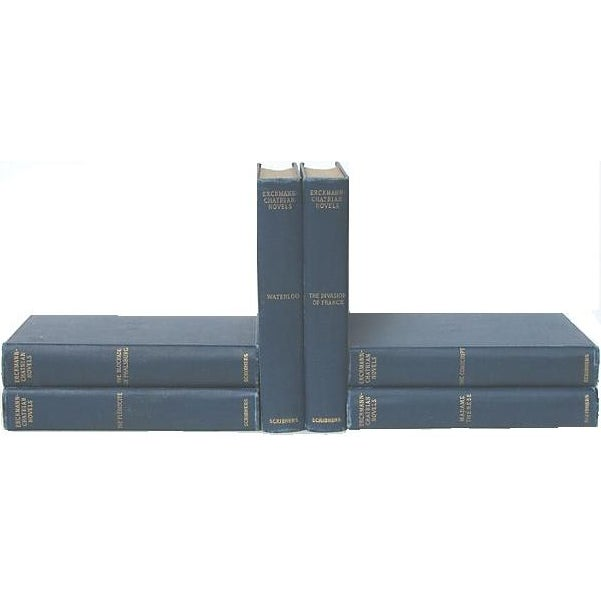 Erckmann-Chatrian French Novels, 1903 - Set of 6 For Sale
