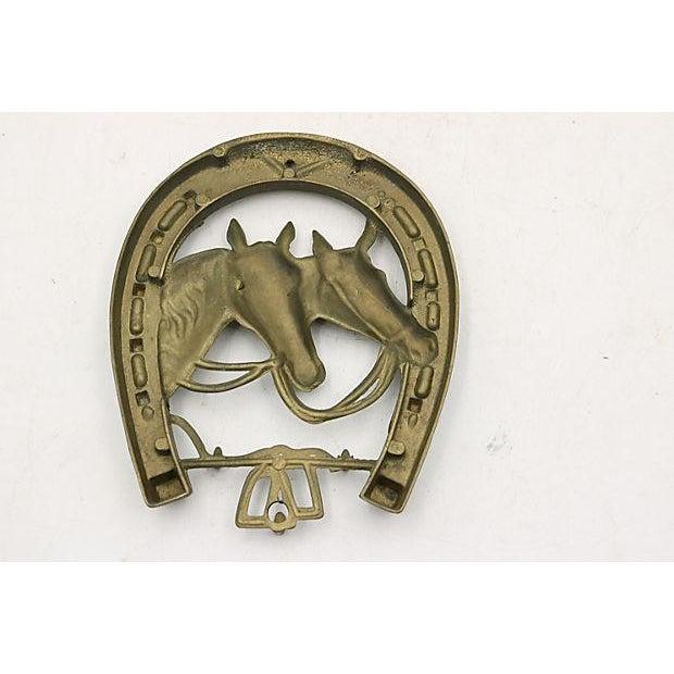 English brass wall tack key hook chairish