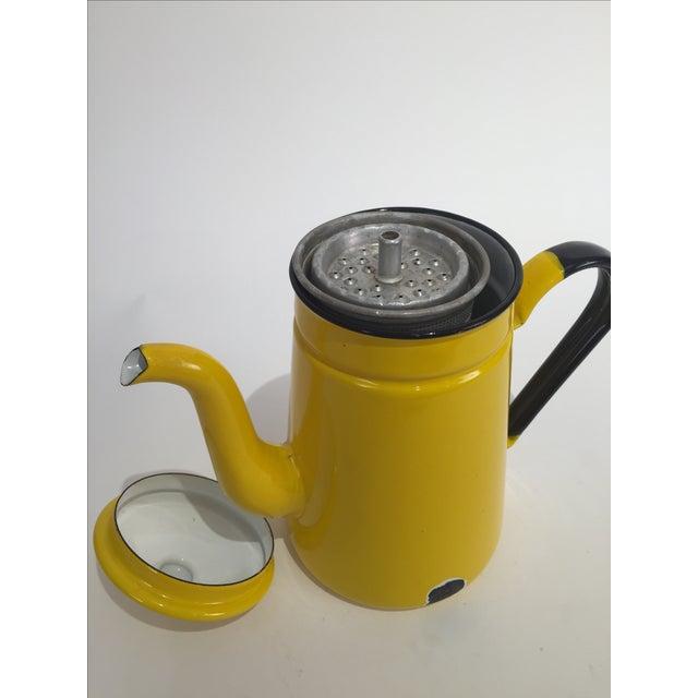 Vintage Yellow Tea Pot - Image 6 of 7