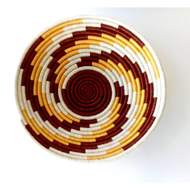 African Woven Basket - Image 7 of 7