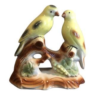 Vintage Love Birds Statue For Sale