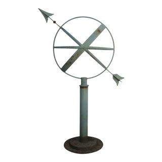 Vintage Artisan Made Armillary Sundial For Sale